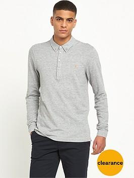 farah-merriweather-long-sleeve-polo-shirt