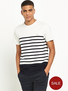 farah-hampstead-textured-stripe-t-shirt