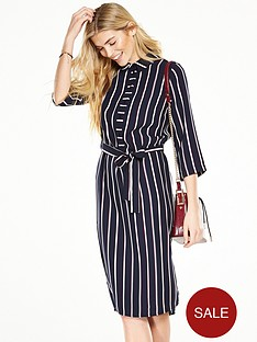 v-by-very-longline-stripe-shirt-dress