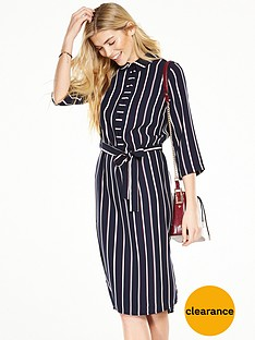 v-by-very-longline-stripe-shirt-dress
