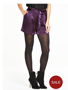 v-by-very-satin-tie-waist-shorts