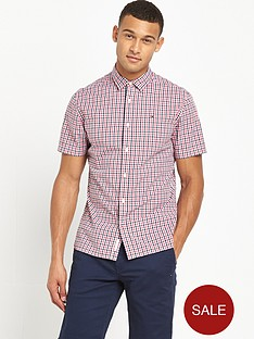 hilfiger-denim-gingham-short-sleeve-shirt