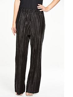 v-by-very-pleated-metallic-wide-leg-trouser-co-ord