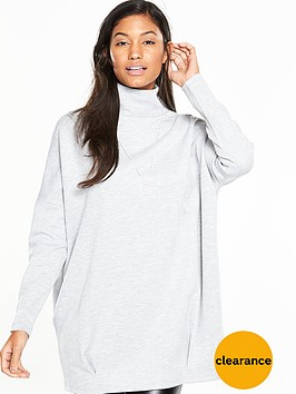 v-by-very-scuba-sweat-high-neck-oversized-tunic