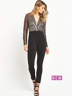 rare-sequin-lace-wrap-jumpsuit