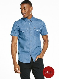 lee-short-sve-western-shirt