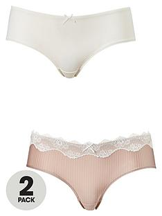 dorina-bianca-brief-2-pack-blush-stripeivory