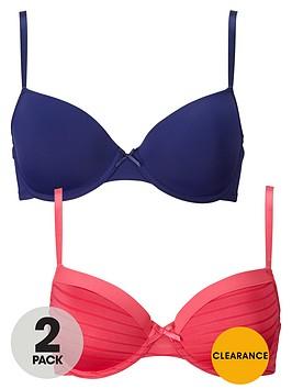 dorina-louise-2-pack-t-shirt-bra-pinknavy