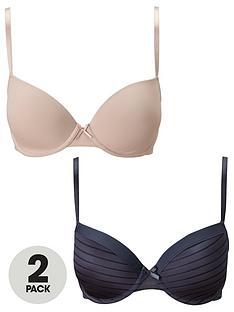 dorina-2-pack-louise-t-shirt-bra-charcoalblush