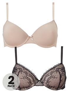 dorina-chloe-t-shirt-bra-2-pack-blushblack