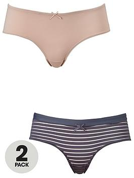 dorina-louise-hipster-brief-2-pack-blushcharcoal-stripe