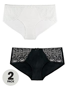 dorina-celinenbsp2-pack-brief-blackwhite