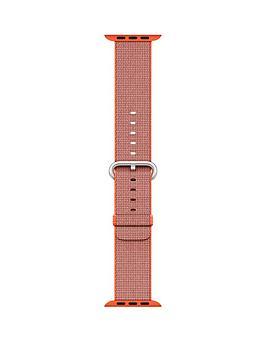 apple-38mm-space-orangeanthracite-woven-nylon