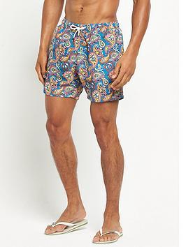 pretty-green-paisley-swim-shorts