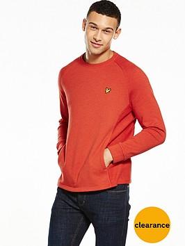 lyle-scott-crew-neck-seam-pocket-sweatshirt