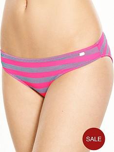 superdry-cali-stripe-bikini-bottom-fuchsia