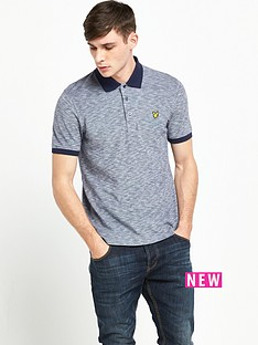 lyle-scott-oxford-slub-polo-shirt