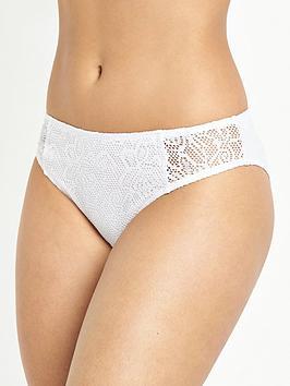 Pour Moi Puerto Rico Bikini Brief - White