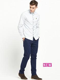 lyle-scott-long-sleeve-texture-stripe-shirt