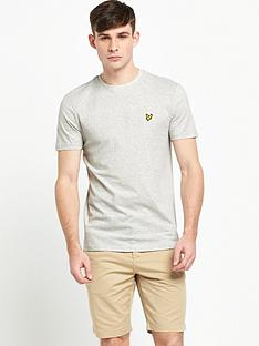 lyle-scott-texture-yoke-t-shirt