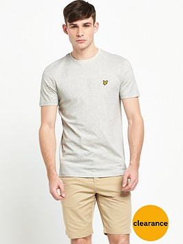 lyle-scott-texture-yoke-t-shirt