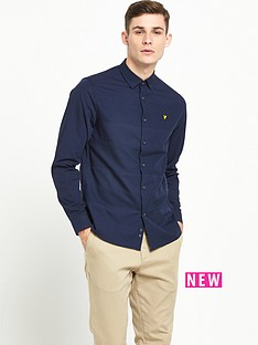 lyle-scott-long-sleeve-textured-stripe-shirt