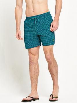 lyle-scott-gingham-swim-shorts