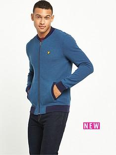 lyle-scott-pique-bomber-jacket