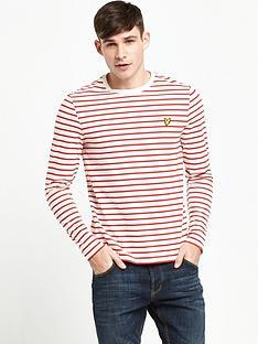 lyle-scott-long-sleeve-bretton-stripe-tshirt