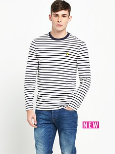lyle-scott-long-sleeve-bretton-stripe-tshirt