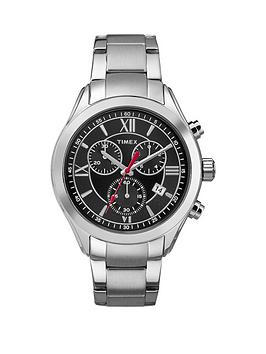 timex-timex-miami-black-dial-chronograph-stainless-steel-bracelet-mens-watch