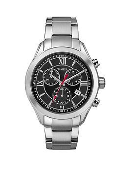 timex-timex-miami-black-dial-chronograph-stainless-steel-bracelet-mens-watch