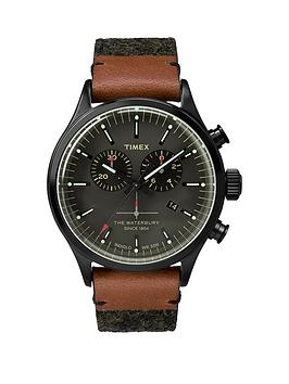 timex-timex-waterbury-chrono-black-dial-with-black-leather-strap-mens-watch