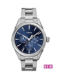 timex-timex-chesapeake-multi-function-blue-dial-stainless-steel-bracelet-mens-watch