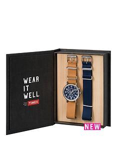 timex-weekender-chronograph-gift-set