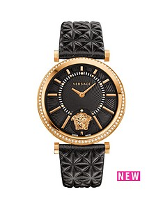 versace-versace-helix-black-dial-black-leather-strap-ladies-watch