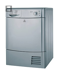 Indesit IDC8T3BS 8kg Load Condenser Tumble Dryer - Silver