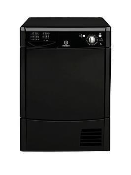 Indesit Ecotime Idc8T3Bk 8Kg Condenser Tumble Dryer - Black