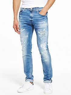 replay-jondrill-distressed-skinny-fit-jeans