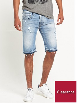 replay-anbass-distressed-shorts