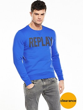 replay-branded-crew-sweat