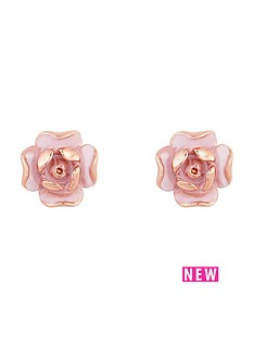 ted-baker-enamel-rose-stud-earrings