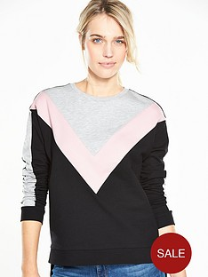 v-by-very-colour-block-sweat