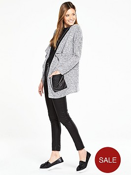 v-by-very-pu-patch-pocket-cardigan