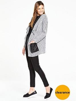 v-by-very-pu-patch-pocket-cardigan