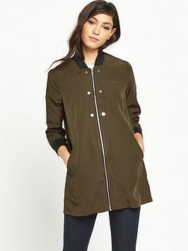 river-island-river-island-khaki-longline-bomber-jacket