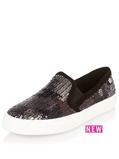 river-island-pop-slip-on-skate-plimsollnbsp