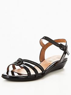 clarks-bianca-crown-jewel-flat-sandal-black