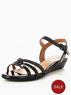 clarks-bianca-crown-jewel-flat-sandal-black