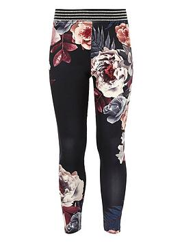 river-island-girls-black-floral-print-glitter-leggings